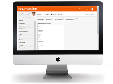 Cloud-based HR system - built on state-of-the-art technology in a cool and intuitive design.