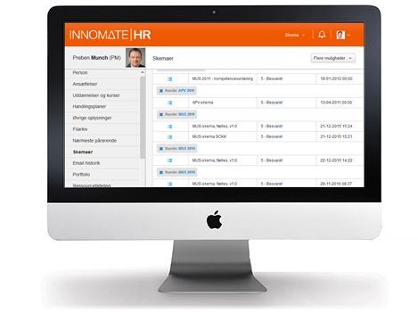 Full flexibility – workflow automation, menus, messages, tables, etc. Tailored to the needs of the company.